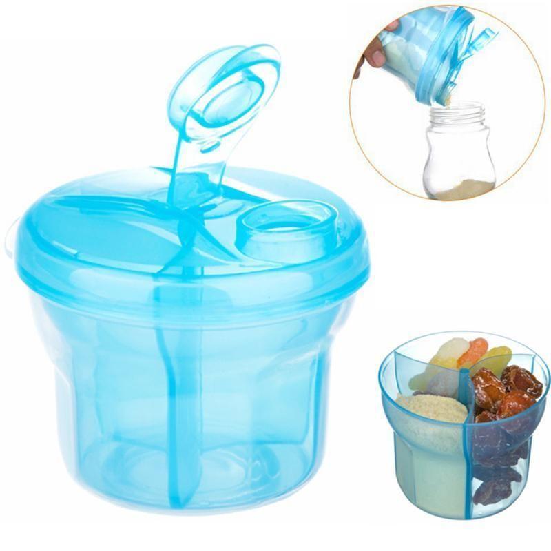 Portable Baby Milk Powder Formula Dispenser Container