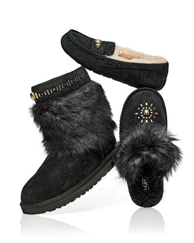 510299c21ae Vilet Crystal Toscana Boot Black | Holiday Gift Guide | Slippers ...