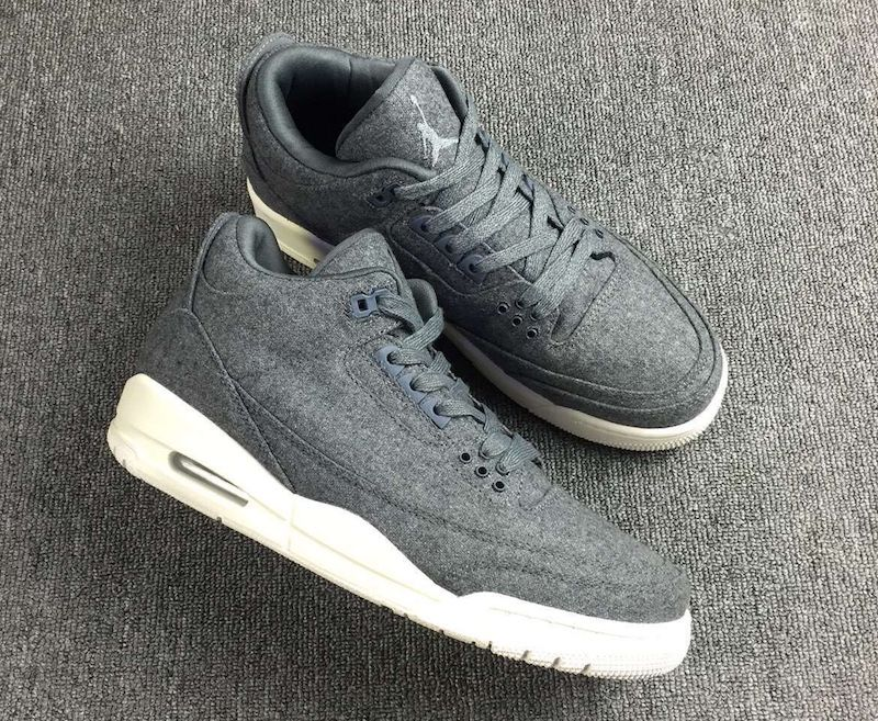 2016 Air Jordan 3 Dark GreyDark GreySail Best