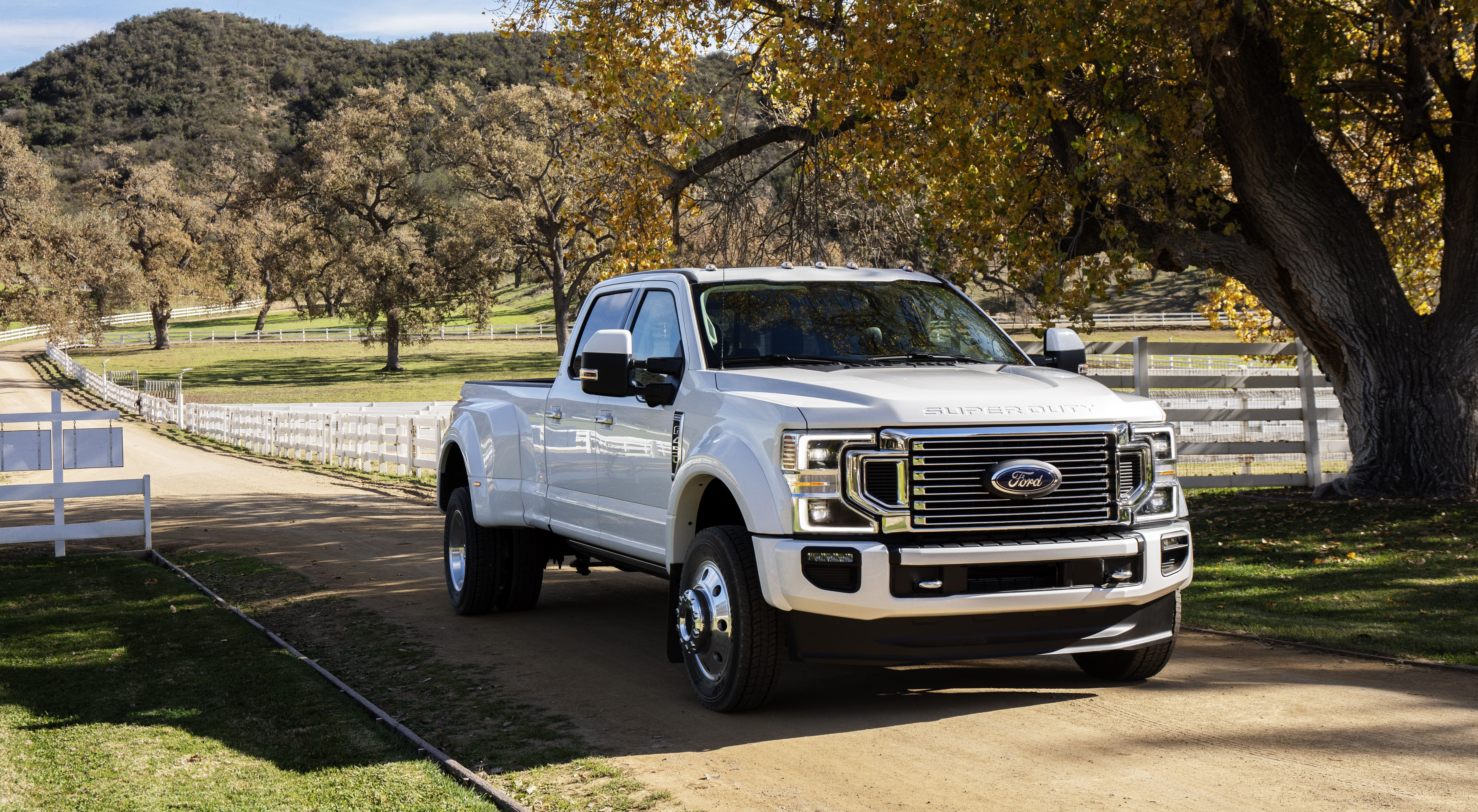 How Ford Crashed Chevy S Heavy Duty Truck Party In Chicago Top Speed Ford Super Duty Heavy Duty Trucks Ford F Series