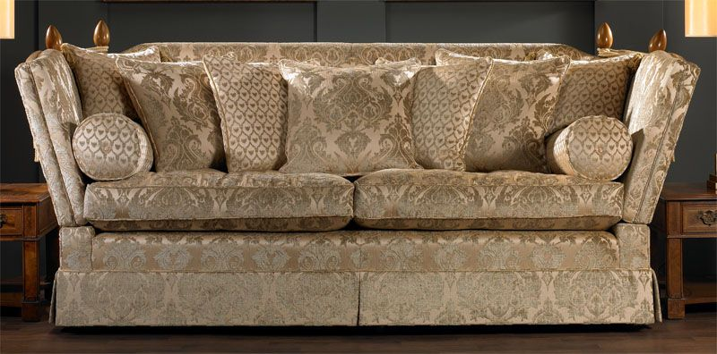 Knole sofa  Lounge Area  Knole sofa Sofa uk Cushions
