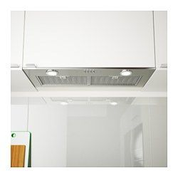 Eventuell Built In Extractor Hood Stainless Steel Ikea Extractor Hood Ikea Kitchen Extractor