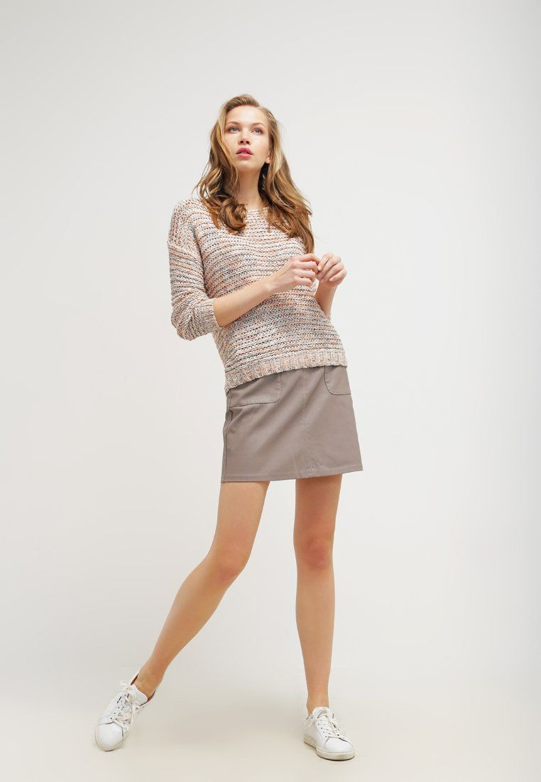 New Look Mini skirt - light grey for £17.00 (06/02/16) with free delivery at Zalando