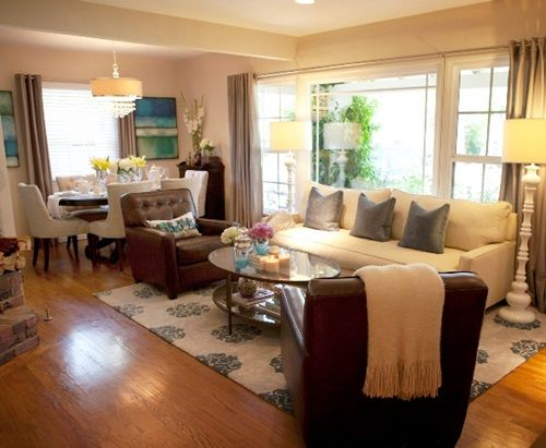 4Tricks to Decorate Living Room and Dining Room Combo Apartment