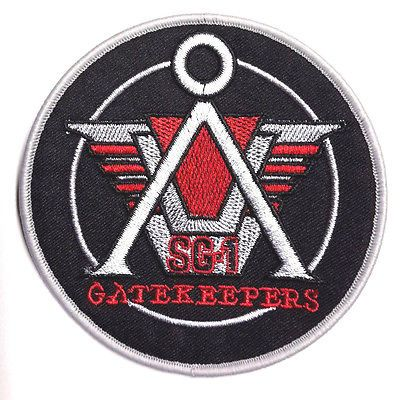 Stargate-SG-1-Gatekeepers-Logo-4-034-Embroidered-Uniform-Patch-FREE