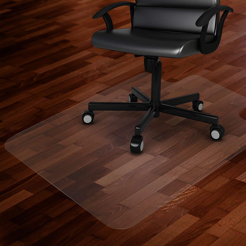 Fake It Frugal Diy Wooden Office Chair Mat Office Chair Mat