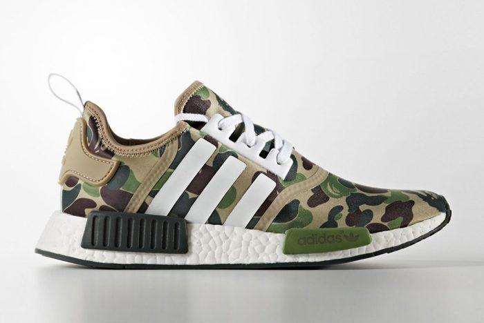 Herren Schuhe Nmd Bape X Adidas R1Shoes 80wkPXnO