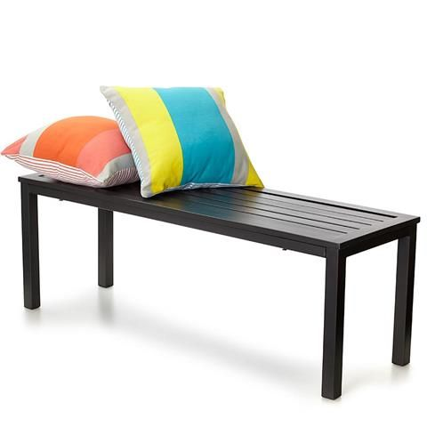 Outdoor Metal Bench Seat Kmart Stylish Outdoor Furniture Outdoor Tables And Chairs Outdoor Bench Seating
