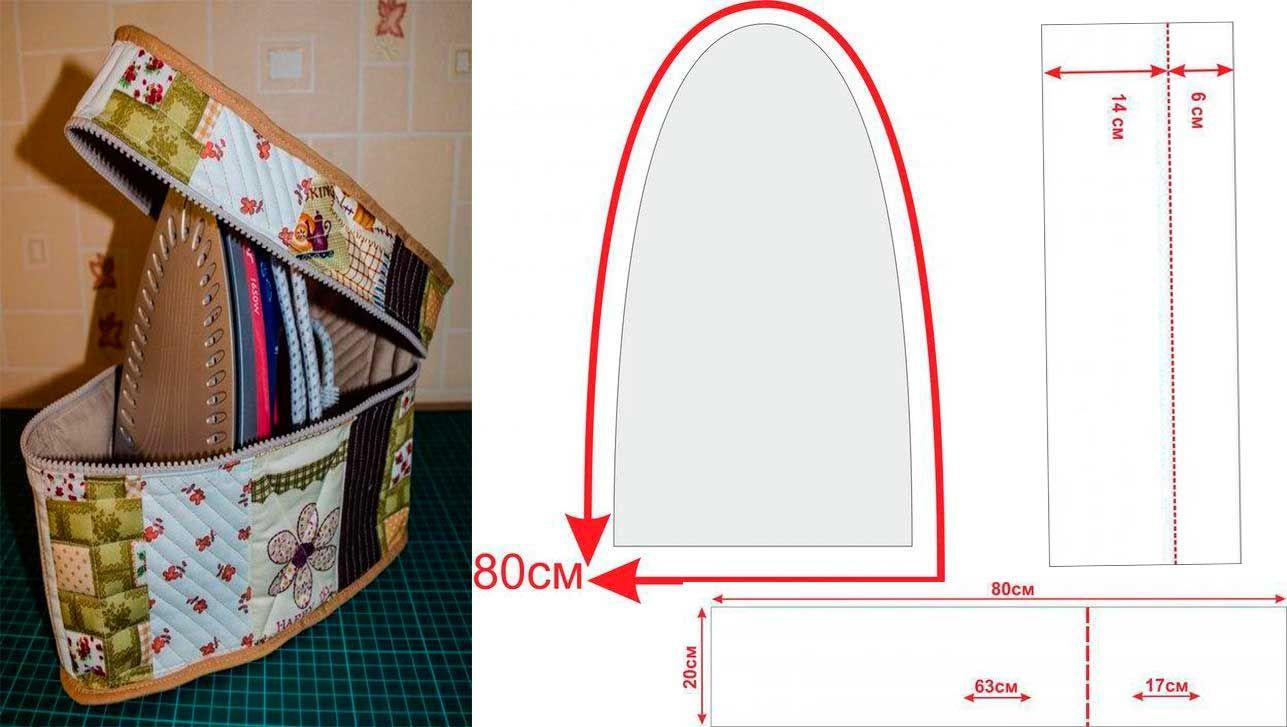 moldes para hacer cubre plancha10 | ACCESORIOS | Pinterest | Cubrir ...