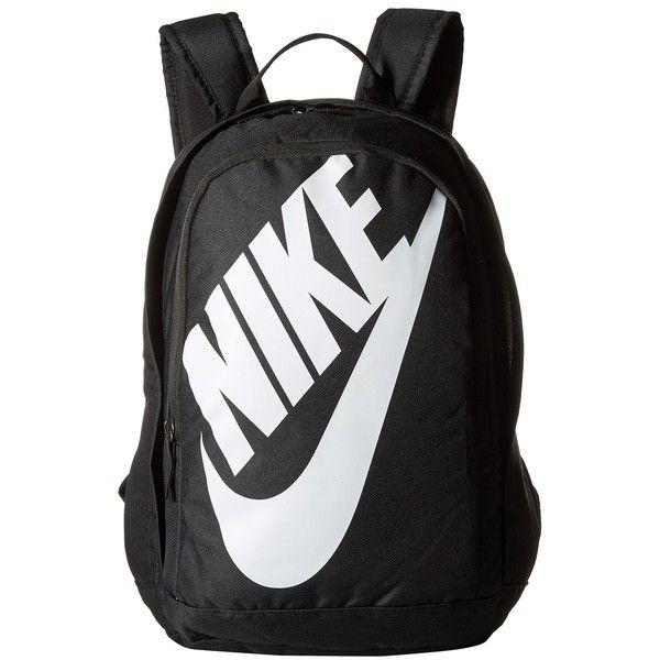 f4946a6c8bdf Nike Hayward Futura M 2.0 (Black Black White) Backpack Bags ( 45) ❤ liked  on Polyvore featuring mens fashion
