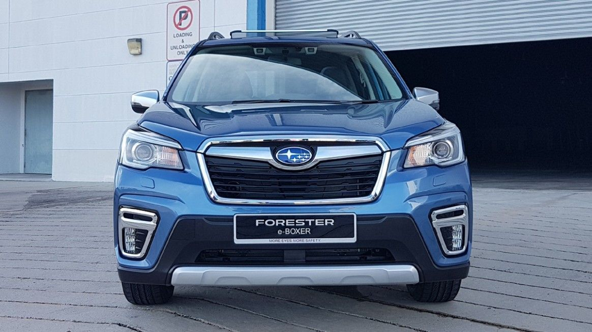 2020 Subaru Forester Japan New Concept
