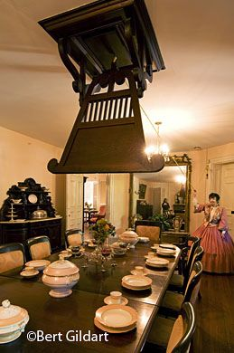 Punkah Used To Keep Flies Away During Dinner Antebellum Home Home Upgrades Natchez