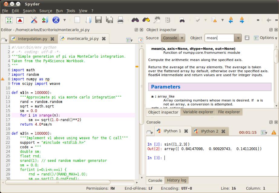 IDEs for Sci Python | Python & Computation | Python, Python