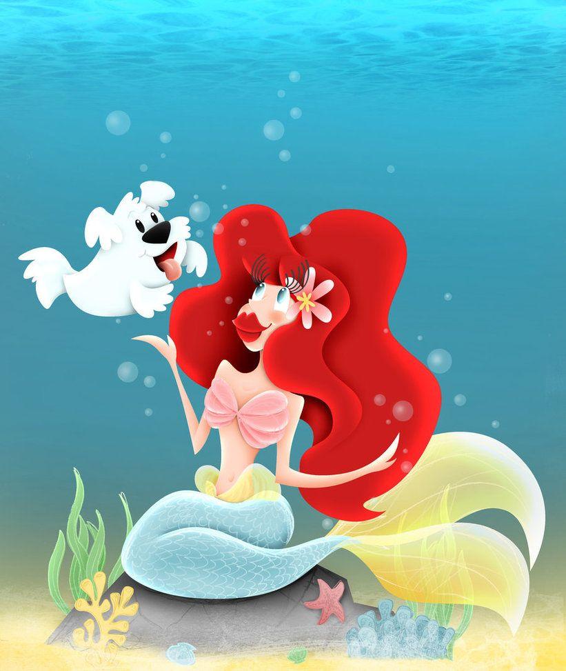 Mermaid & Merpup