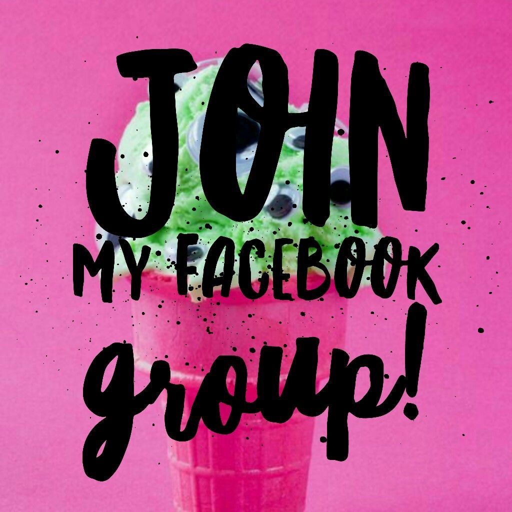 Join my Facebook VIP group for shopping, games and giveaways