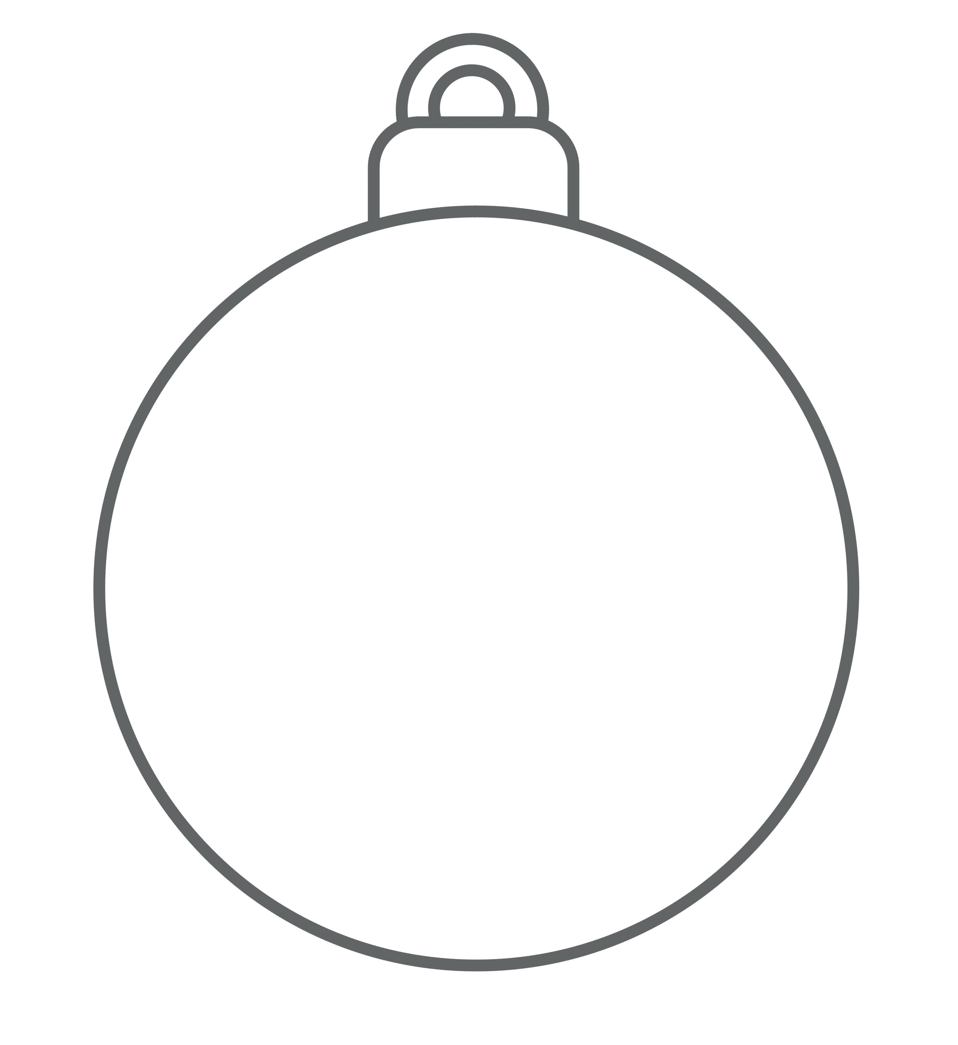 Paper Christmas Ornaments Template Bauble As You Like Papercraft