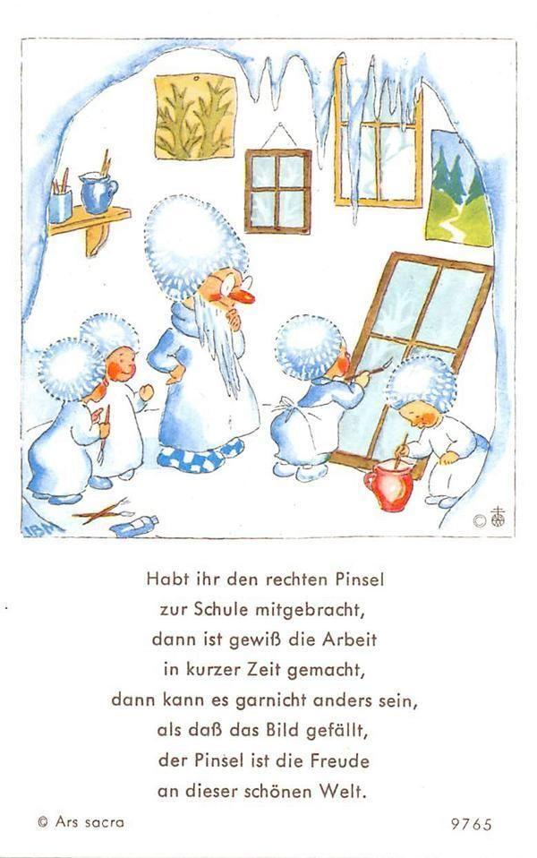 "Fleißbildchen Heiligenbild Gebetbild /"" IDA BOHATTA /"" Holy card Ars sacra/"" H316/"""