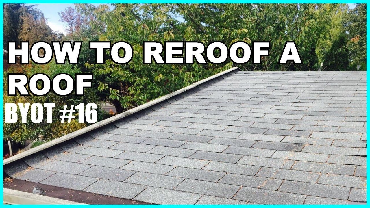 Best Diy How To Reroof A Roof Byot 16 Diy Roofing Garage 400 x 300