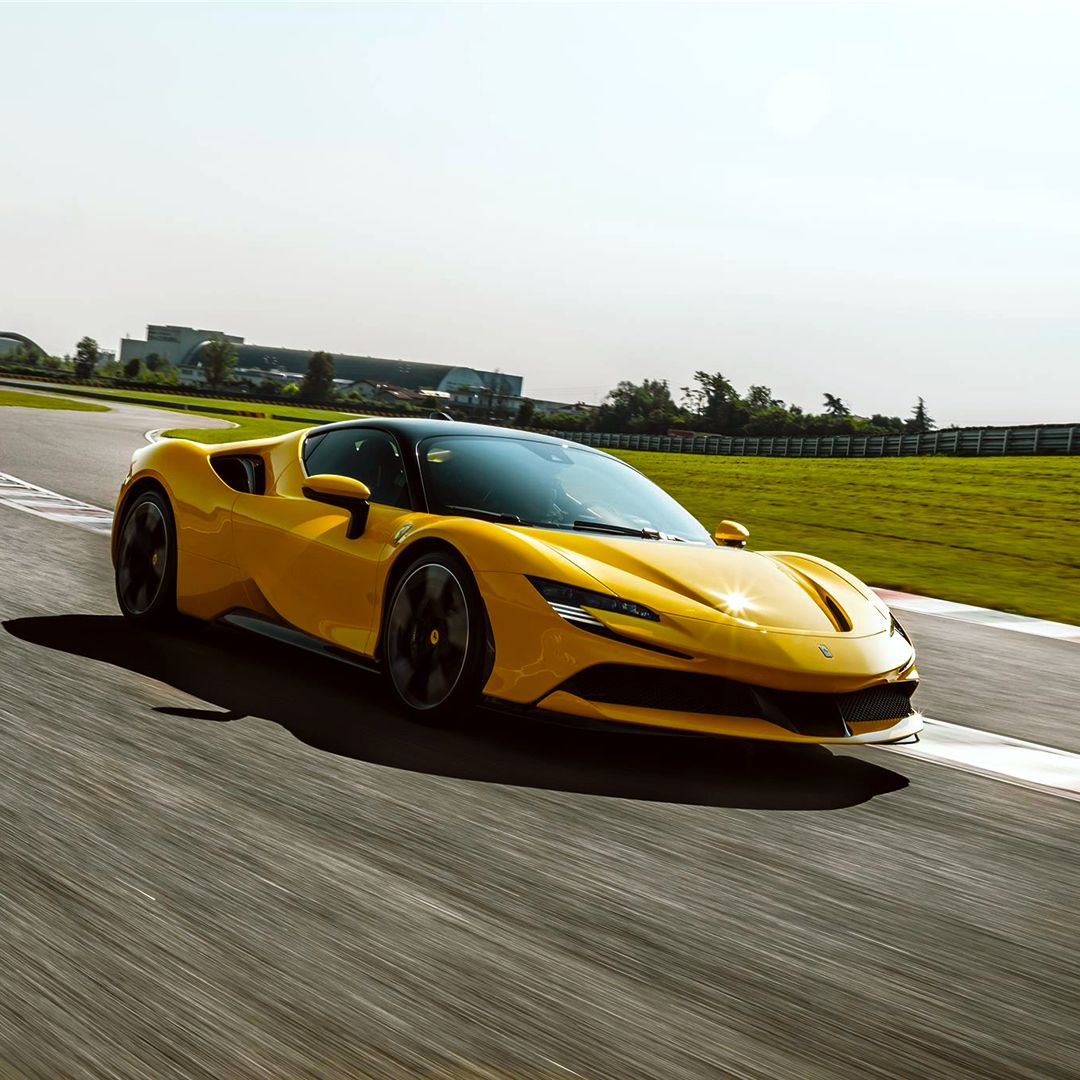 The Ferrarisf90stradale Delivers An Adrenaline Spike On Both The Road And The Track The Newest Addition To The Ferrari Super Cars Ferrari Sports Car Racing