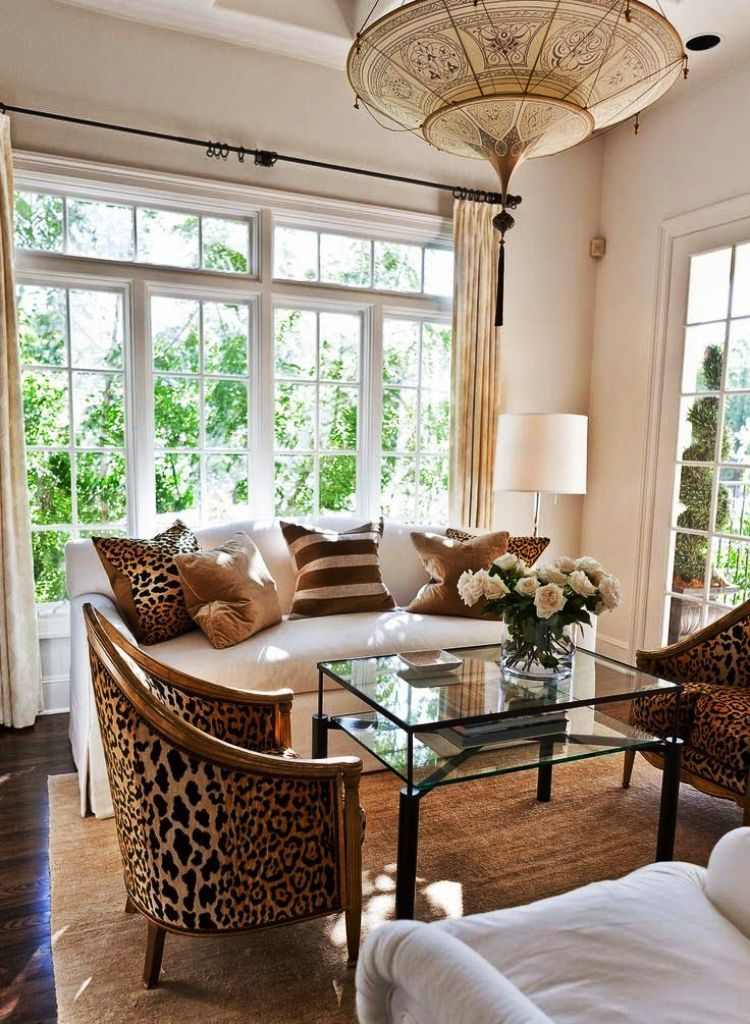 Ordinaire Cheetah Living Room