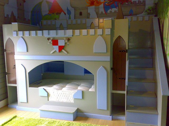 Castle Bunk Bed By Thelittlebedcompany Via Flickr