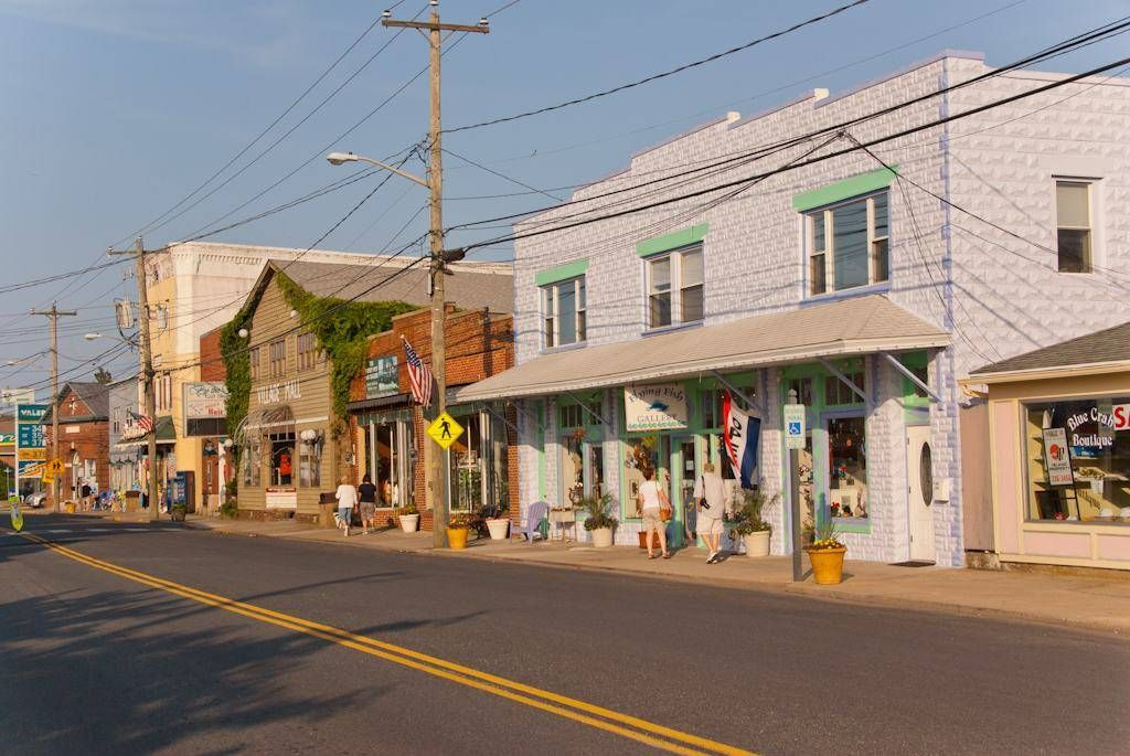 Main Street Chincoteague Island Favorite Places  Spaces in