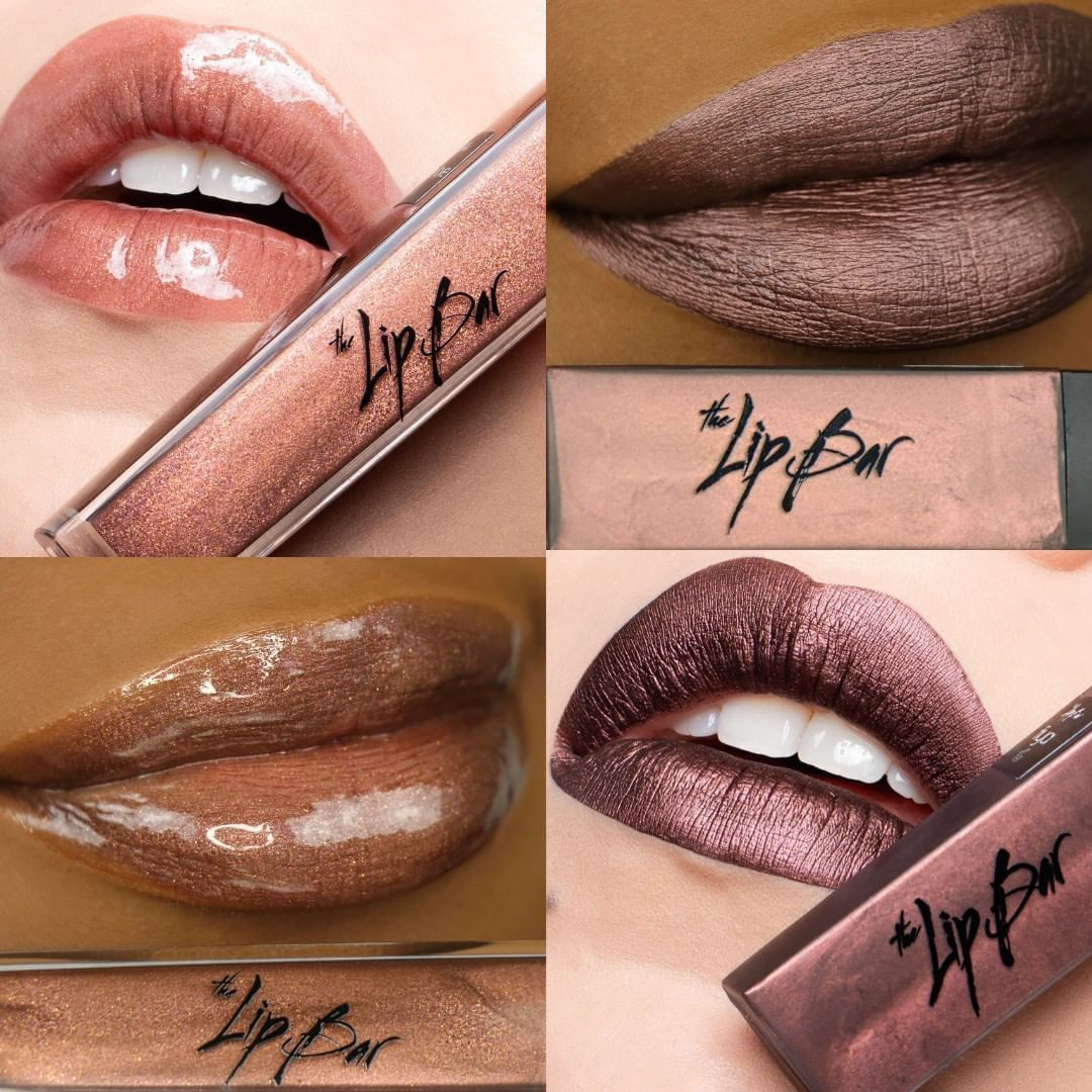 One Love A Sparkly Brown Gloss Fiya A Metallic Chocolate Brown