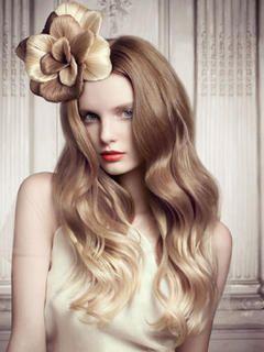 Lange lockige Frisuren 2015 - der Neid der meisten Mädchen
