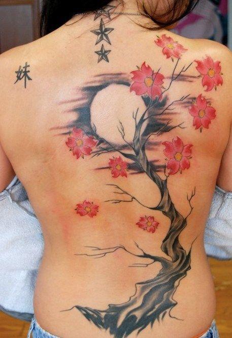 Sun And Japanese Cherry Blossom Tattoo Cherry Blossom Tattoo Blossom Tree Tattoo Cherry Tree Tattoos