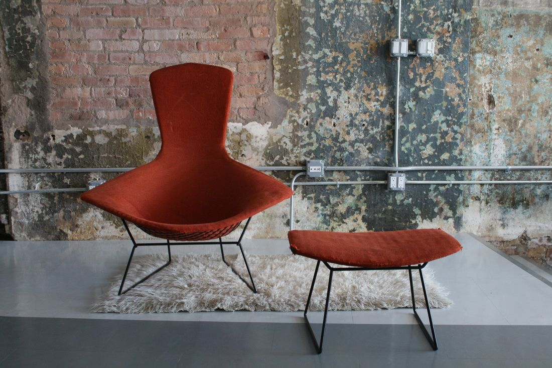 Harry Bertoia Bird Chair Replica Harry Bertoia Diamond Chair Powder