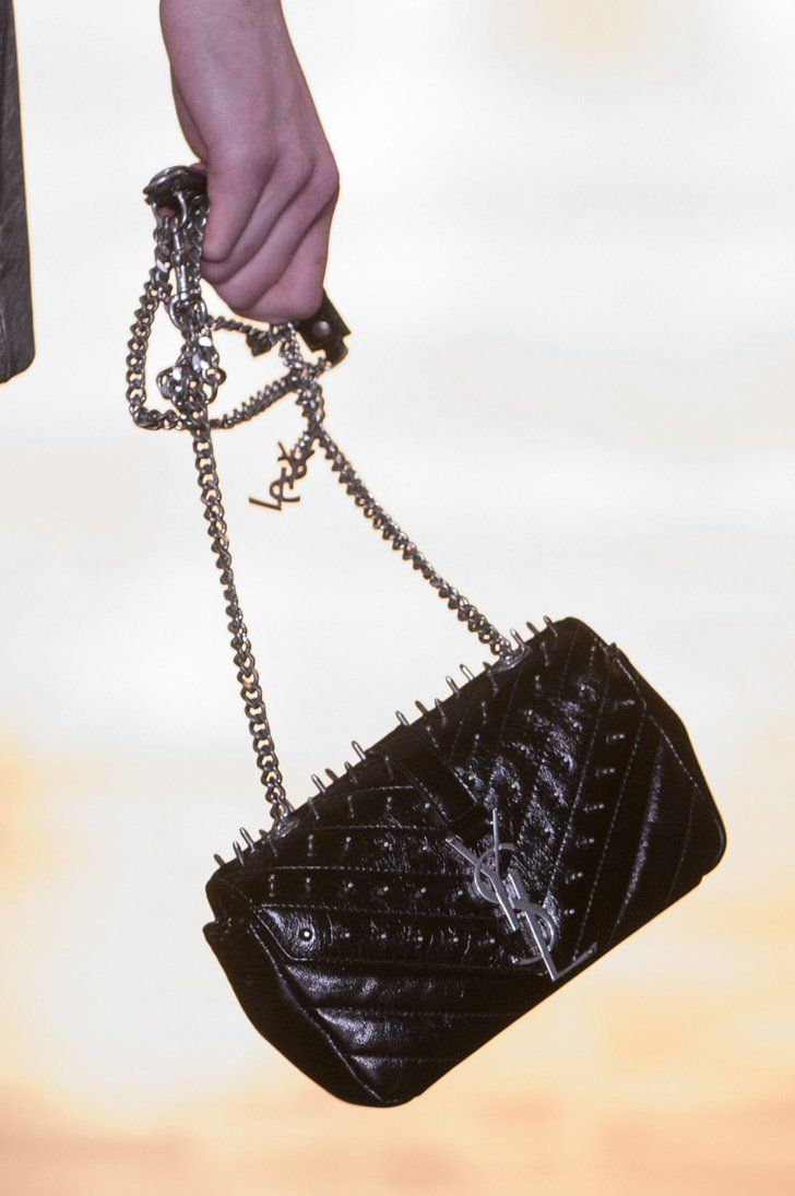 Pin for Later: You'll Want to Wear These Bags Right Off the Runway Saint Laurent Fall 2015