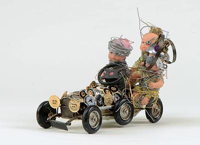 """Easy Riders"", Olivier Sultan, 2015.  52x52 cm - 1/7 C-print - Collage sous plexiglas, support aluminium, châssis rentrant aluminium. En vente dans notre rubrique Store."