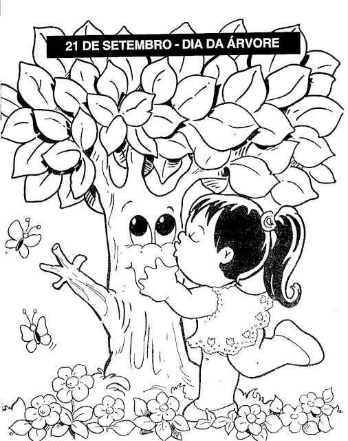 Arvoresetembro Arvore Jpg 506 640 With Images Coloring Books