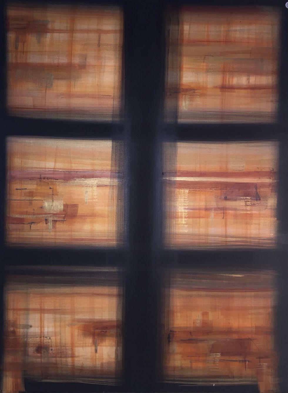 Fenêtre sur ElectrO 60x80cm (2015)