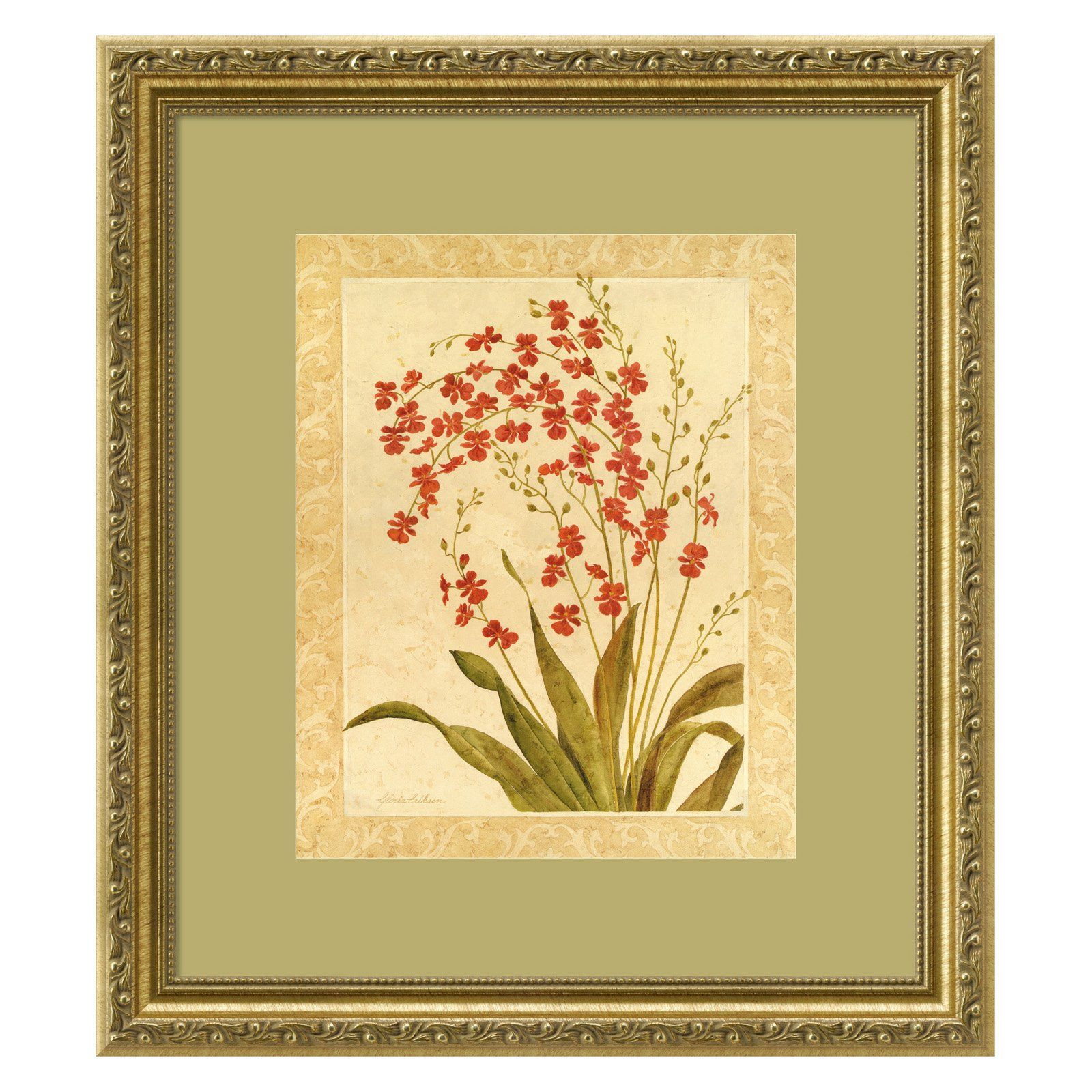Have to have it. Red Begonias Framed Wall Art by Gloria Eriksen ...