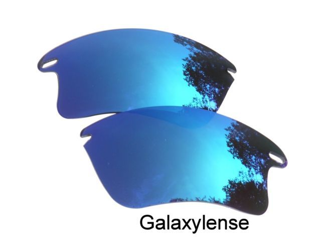 6003159eb6 Galaxylense Galaxy Replacement Lenses for Oakley Fast Jacket Blue Color  Polarized