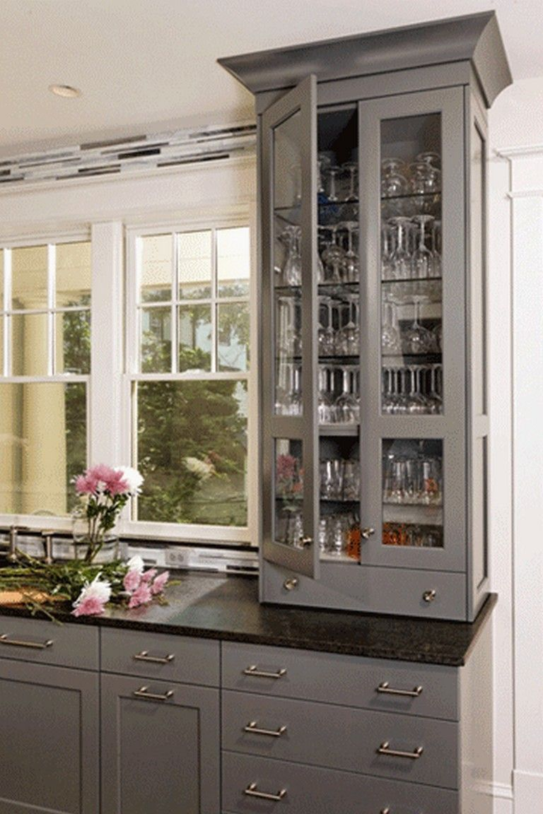 15 Awesome Glamorous Gray Kitchens Custom Built Kitchen Cabinets Design Your Kitchen Kitchen Cabinet Manufacturers