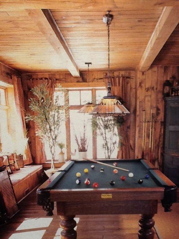 Salle De Billard D 233 Cor De Maison Play Pool Play Et Table