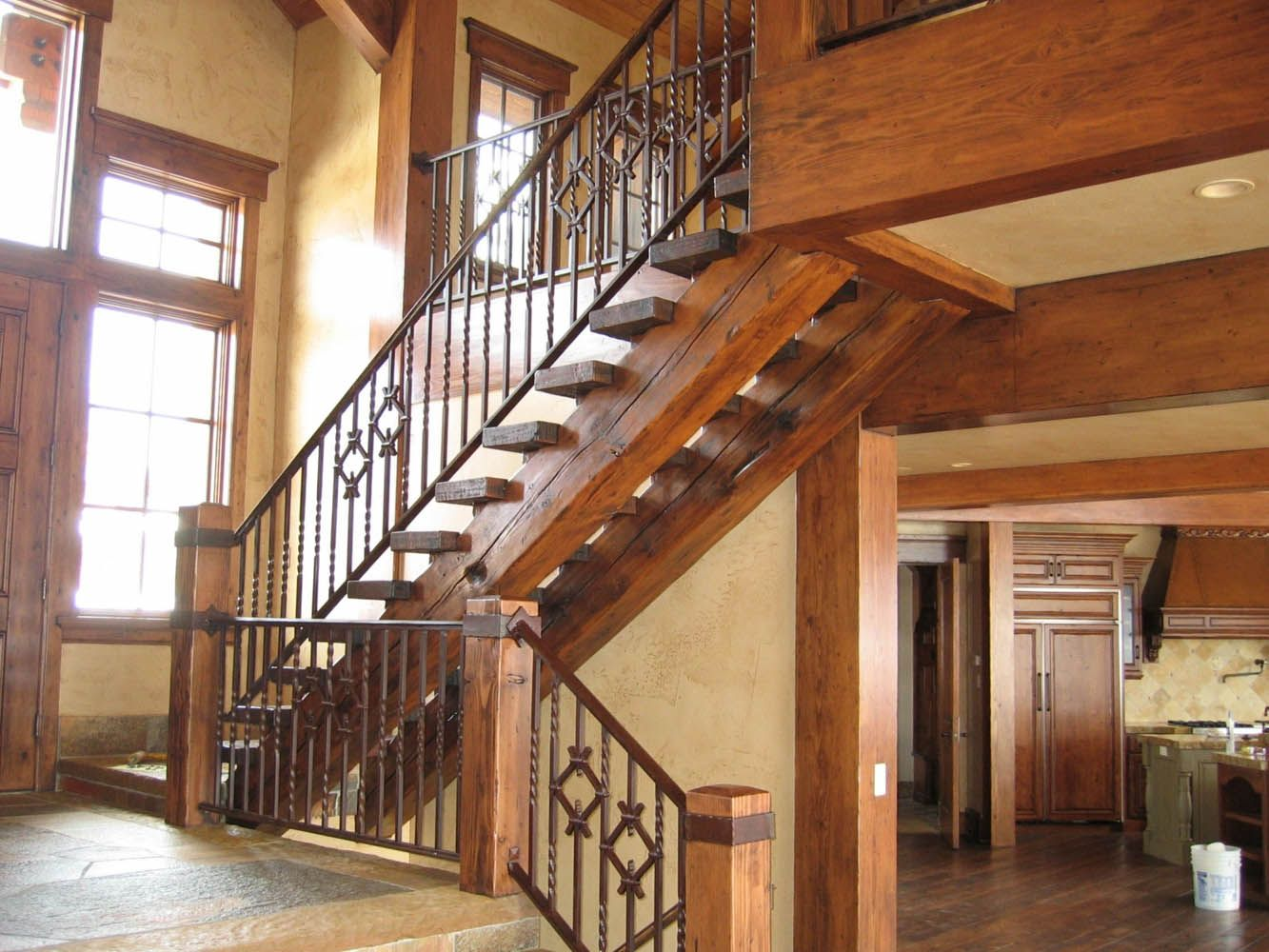 Best This Stair System Uses Our Reclaimed Ground Douglas Fir 400 x 300