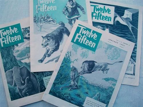 1953 Periodical TWELVE FIFTEEN Methodist Christian Youth