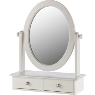 Buy Heart Of House Colette Dressing Mirror With Drawers Ivory At Argos Co Uk Your Online Shop For Mirror Dressing Mirror Dressing Table Mirror Mirror Table