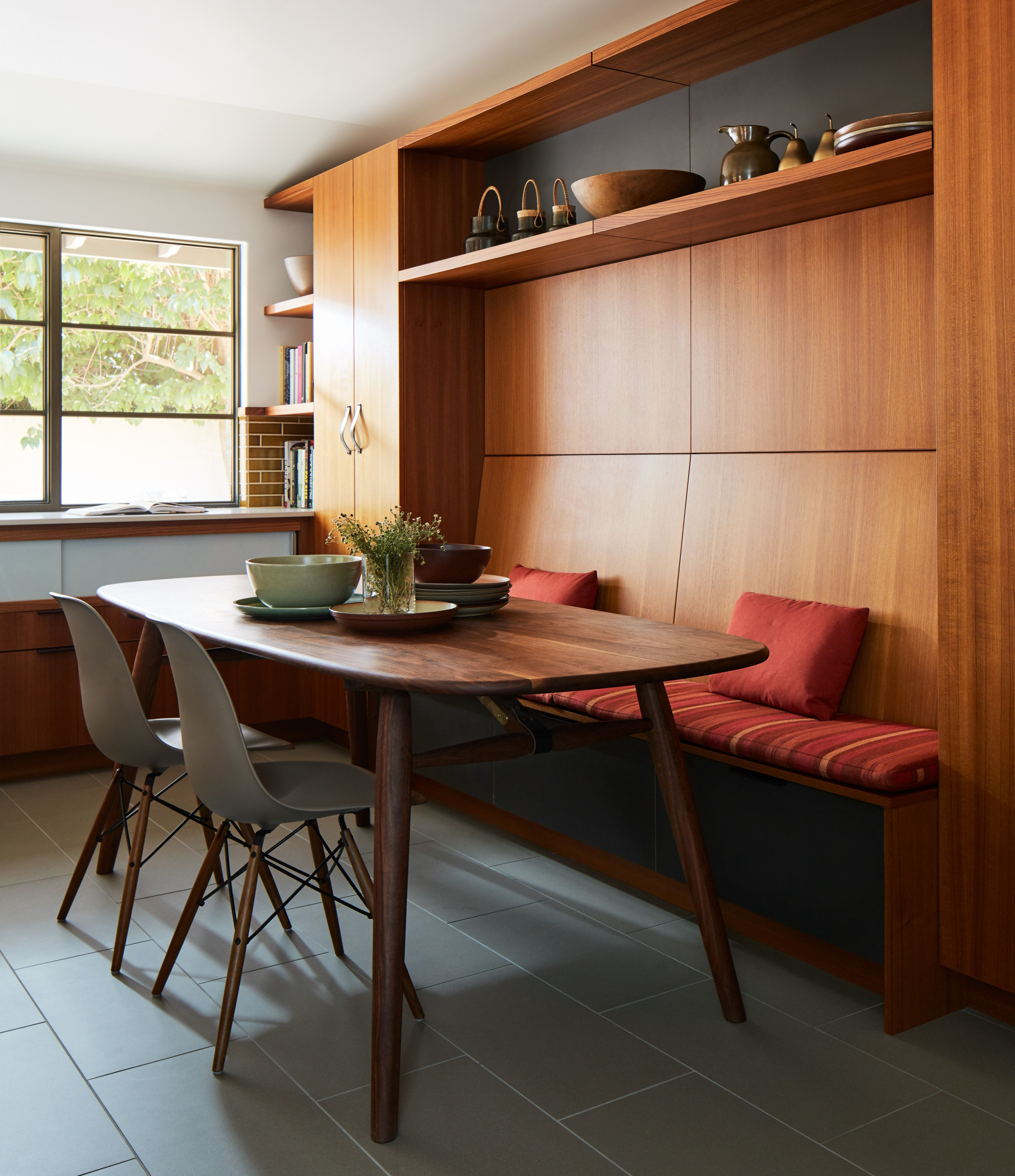 California Revival In Palo Alto  Informal Dining Area In