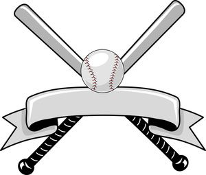 Baseball Clipart Image - Baseball Logo Graphic with a ...
