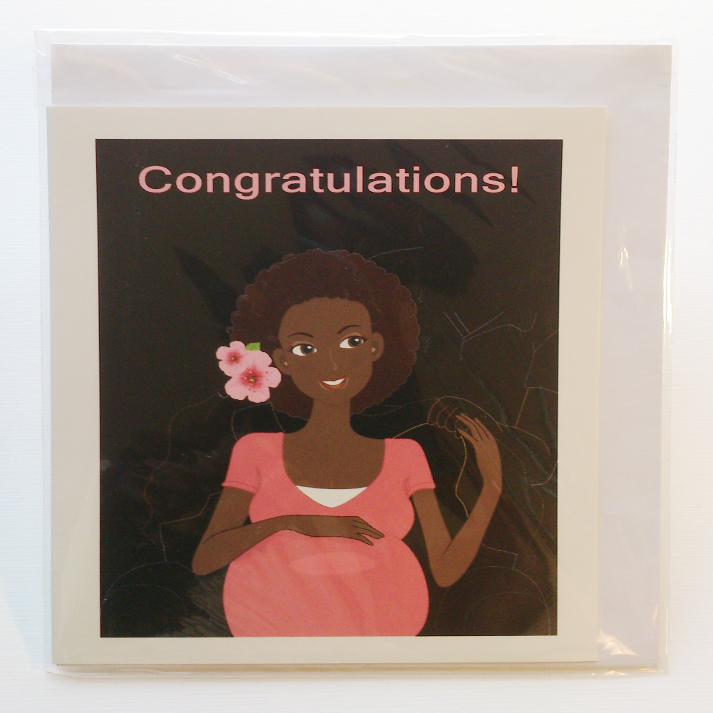 Pregnant woman sitted greeting card in yoruba igbo hausa shona pregnant woman sitted greeting card in yoruba igbo hausa shona language kristyandbryce Gallery