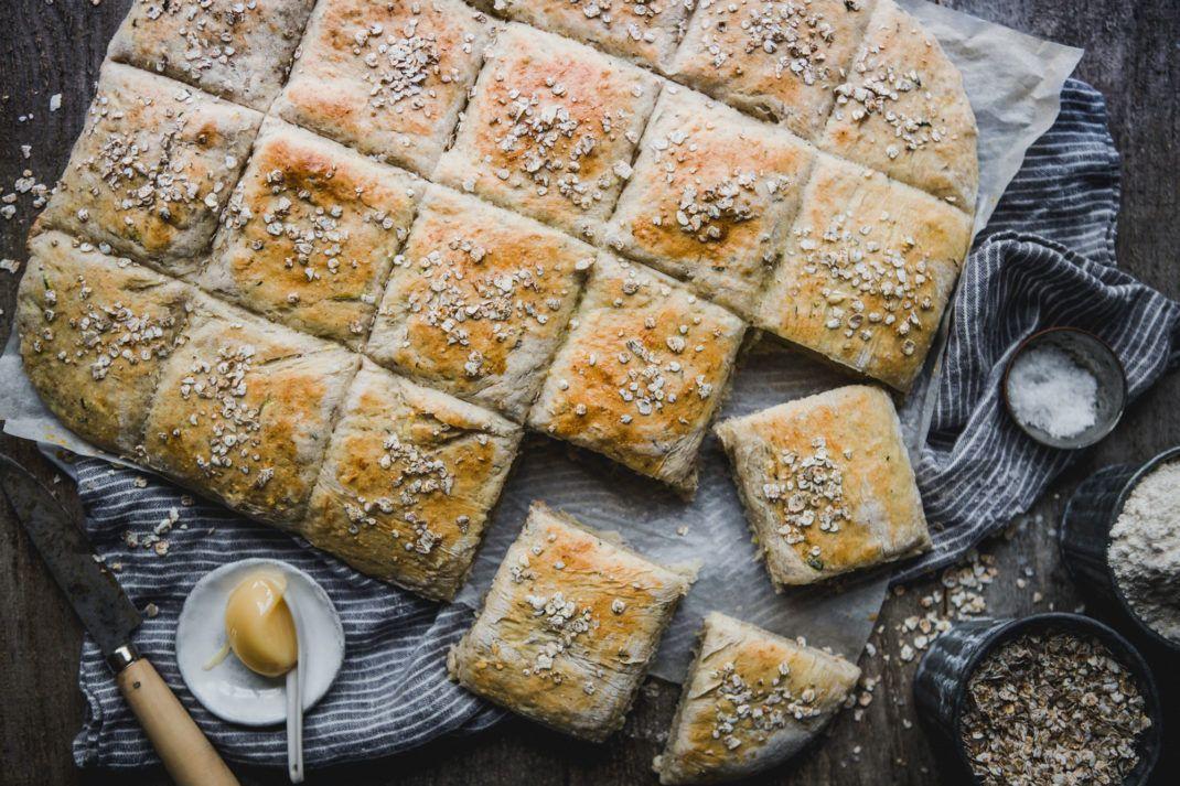 keso bröd i långpanna