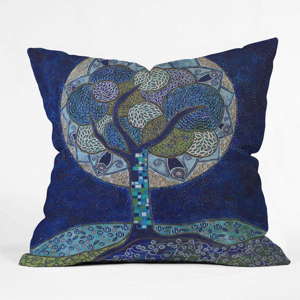 Ruby Door Moon In Bloom Outdoor Throw Pillow | DENY Designs Home Accessories