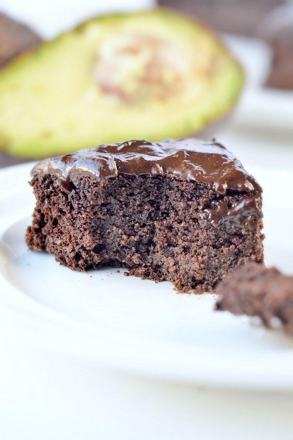 Chocolate avocado cake a healthy fudgy keto gluten free ...