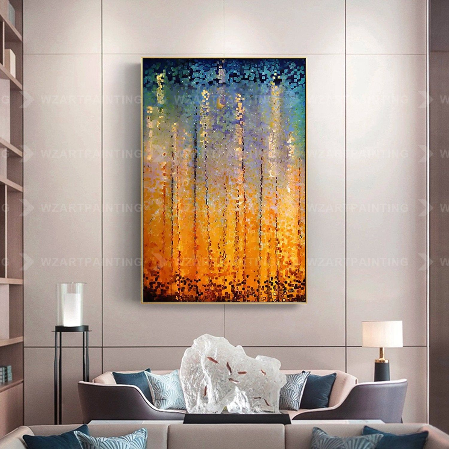 Framed Wall Art Abstract Yellow Acrylic Print On Canvas Painting Wall Art Pictures Large Wall Art Quadros Caudros Cuadros Abstractos Wall Art Wallpaper Wall Art Canvas Painting Canvas Prints