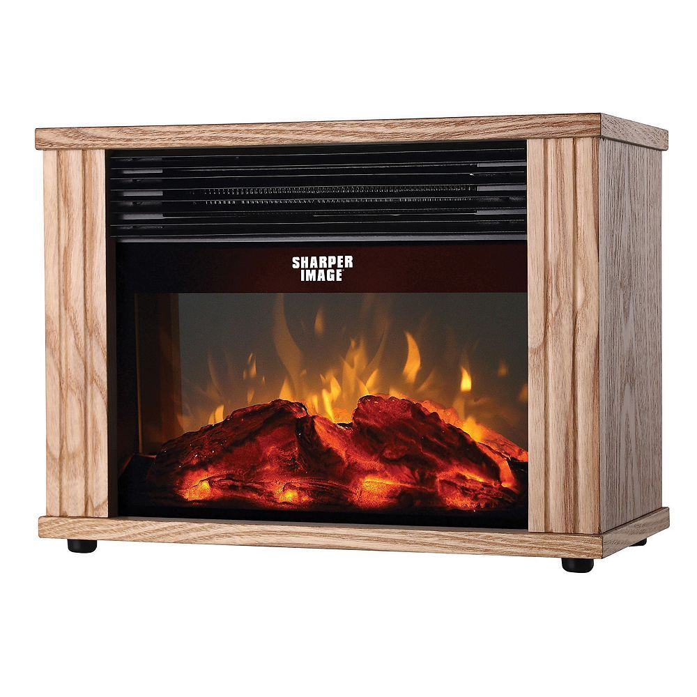 Sharper Image Electronic Fireplace Heater Ir333