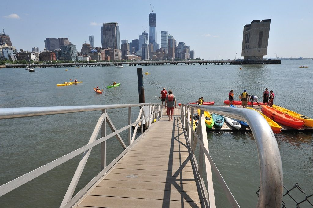 Hudson River Park kayaking